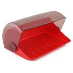 Chlebak kuchenny plastikowy czerwony
