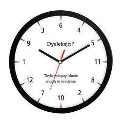 Zegar ścienny solid dysleksja?, ATE2013DL