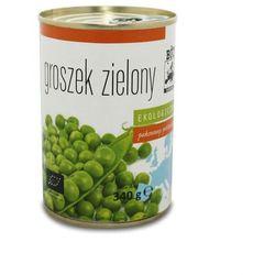 Groszek zielony konserwowy BIO 340g (270g)- BIO EUROPA - produkt z kategorii- Przetwory warzywne i owocowe