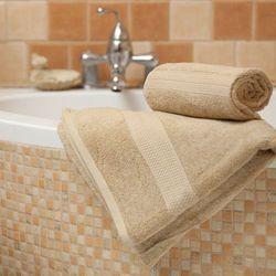 Dekoria  ręcznik evora beżowy, 70x140 cm