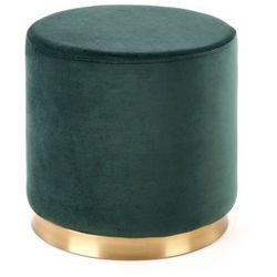 Pufa Covet zielona zielony, kolor zielony