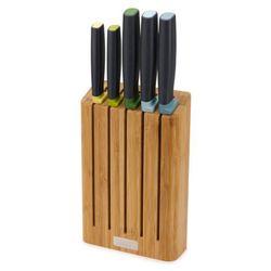 Zestaw noży w bloku Joseph Joseph Elevate bambusowy