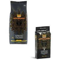 Attibassi Gratis zestaw kawa ziarnista oraz najlepsza kawa mielona