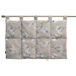 Dekoria  wezgłowie na szelkach, magnolie na beżowym tle, 90 x 67 cm, flowers