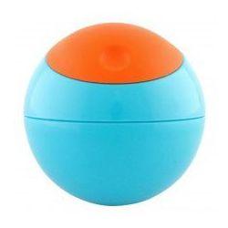 Okrągły pojemnik na przekąski Snack Ball - niebieski, Boon - produkt z kategorii- Pozostałe dla dzieci