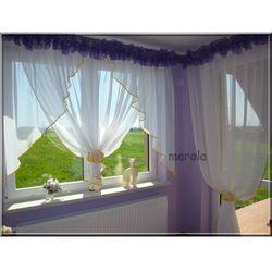 Marola 107 - okno + balkon - świetna nowa firana- gumki