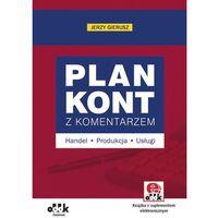 Plan kont z komentarzem – handel, produkcja, usługi (z suplementem elektronicznym), Gierusz Jerzy