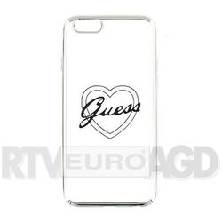 GUESS Hardcase GUHCP6TRHS iPhone 6/6S silver heart signature DARMOWA DOSTAWA DO 400 SALONÓW !! - sprawdź w w