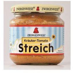 Pasta słonecznikowa z ziołami i pomidorami 180g BIO (bezglutenowa) - Zwergenwiese