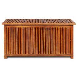 Drewniana skrzynia ogrodowa - ria 2x marki Elior