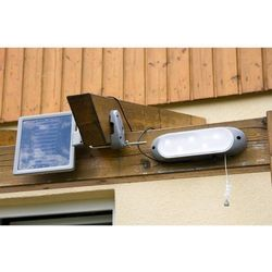 Lampa solarna naścienna Garth 5 x LED dioda