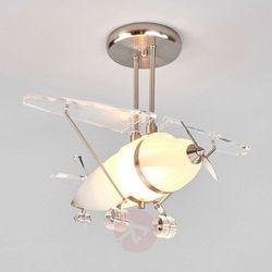 Flya ozdobna lampa wisząca w kształcie samolotu marki Searchlight