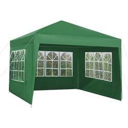 Pawilon ogrodowy 3 ścianki 3x3m zielony p5506 marki Iso