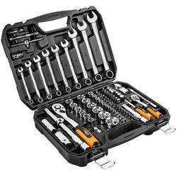 Zestaw kluczy nasadowych NEO 08-672 1/2 i 1/4 cala (82 elementy)