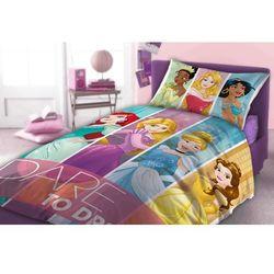 Pościel Disney Princess 160x200+70x80 - Faro DARMOWA DOSTAWA KIOSK RUCHU