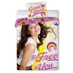 Soy Luna, 2-częściowy komplet pościeli, Be free Be You, 160x200 cm - sprawdź w wybranym sklepie