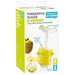 Tomorrow's kitchen - drążarka do ananasa z krajaczem, biała (8714793487222)
