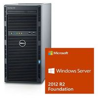 Dell Serwer  t130 xeon e3-1220v6 3.0ghz / ram 8gb ddr4 / hdd 2x1000gb w raid1 / 3y nbd / windows server 2012r2
