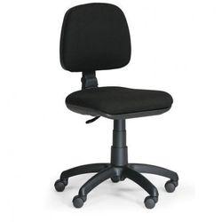 Biurowe krzesło milano bez podłokietników - czarne marki B2b partner
