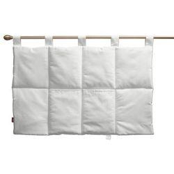 wezgłowie na szelkach, śmietankowa biel, 90 x 67 cm, loneta marki Dekoria