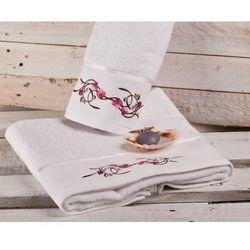 Dekoria ręcznik castelo biały, 70 × 140