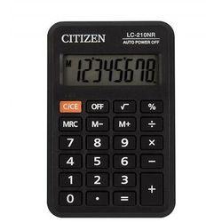 Citizen Kalkulator kieszonkowy lc210nr 8-cyfrowy 98x64mm czarny