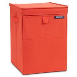Modułowy pojemnik na pranie Czerwony 35l Brabantia (8710755109362)