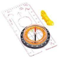 Meteor Kompas  z linijką (pomarańczowa tarcza)