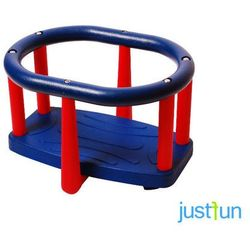Huśtawka kubełkowa LUX - niebiesko-czerwony - oferta [a53f2272f7d1d62e]