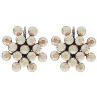 Konplott MAGIC FIREBALL Kolczyki beige crystal (5450527640060)