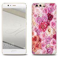Foto Case - Huawei P10 Plus - etui na telefon Foto Case - jasne róże, kolor różowy
