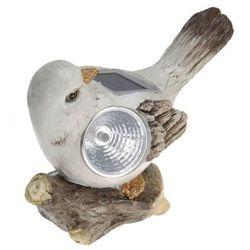 Lampa solarna ptak figurka kamienna Wzór IV - Wzór IV