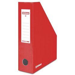 Pojemnik na dokumenty , karton, a4/80mm, lakierowany, czerwony marki Donau