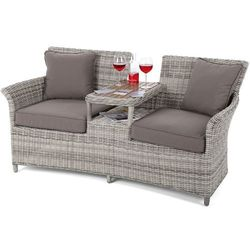 Home&garden Sofa ogrodowa z technorattanu milos l/t