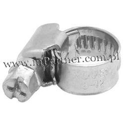 Obejma opaska zaciskowa ślimakowa skręcana 8-12mm 100szt z kategorii Pozostały układ elektryczny