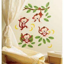 naklejki małe małpki, marki Wallies