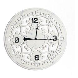 Design by impresje24 Ażurowy drewniany zegar ścienny.
