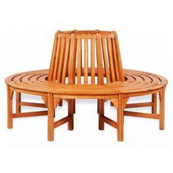 Elior Drewniana ławka pod drzewo - alaina