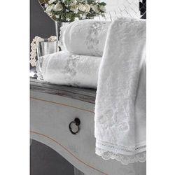 Mały ręcznik LUNA 32x50cm Biały