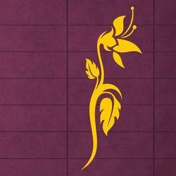 Kwiaty 993 szablon malarski marki Deco-strefa – dekoracje w dobrym stylu