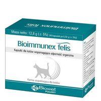 Biowet bioimmunex felis kapsułki dla kotów wspomagające odporność 40kaps. marki Biowet puławy