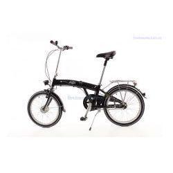 Aluminiowy rower składany mifa 3-biegi shimano nexus czarny z prądnicą, marki Mifa germany