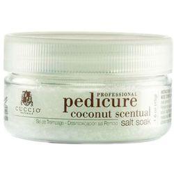 Cuccio COCONUT SCENTUAL SALT SOAK Zmysłowa, kokosowa sól do moczenia stóp (45 g.), kup u jednego z partner�
