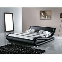 Łóżko skórzane 180x200 cm ze stelażem AVIGNON