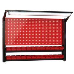 Fastservice N-4-08-04 tablica na narzędzia 920mm x 1350mm x 135mm z oświetleniem