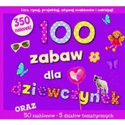 100 zabaw dla dziewczynek, książka w oprawie twardej