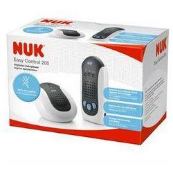 Elektroniczna niania NUK EASY Control 200 Szara/Biała - produkt z kategorii- Nianie elektroniczne