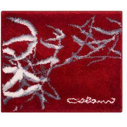 Grund dywanik łazienkowy colani 23, czerwona, 50x60 cm