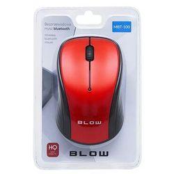Blow Mysz bluetooth mbt-100 czerwona mbt-100 czerwona - odbiór w 2000 punktach - salony, paczkomaty, stacje orlen