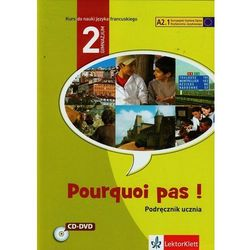 Pourquoi pas 2 Podręcznik z 2CD (ISBN 9788377156322)